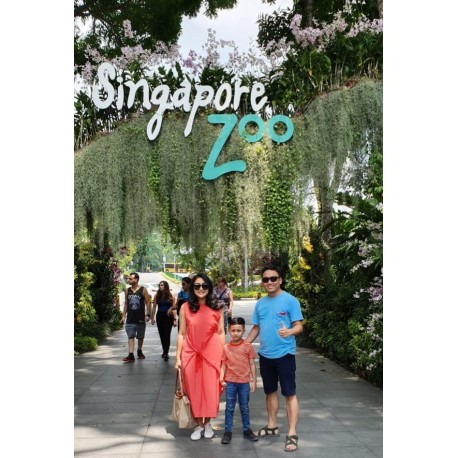 Singapore ZOO with Tram (Adult)