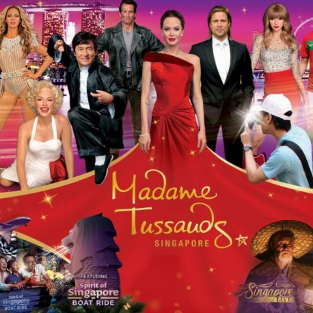 MADAME TUSSAUDE + IOS + BOAT RIDE + MARVEL 4D EXPERIENCE