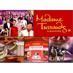 Madame Tussauds + Trick Eye (Package) (Adult)
