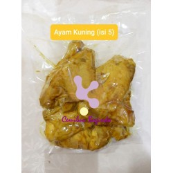 Ayam kuning (5 pcs ) 570 gr